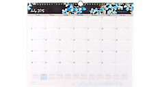 2015 - 2016 Branches and Blooms Academic Wall Calendar (W147-707A_16) (Item # W147-707A_16)