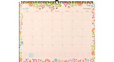 2015 - 2016 Garden Party Academic Wall Calendar (W150-707A_16) (Item # W150-707A_16)