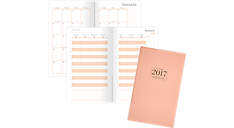 2017 WorkStyle Take Charge Perfect Bound Weekly-Monthly Planner (WS201-200_17) (Item # WS201-200_17)