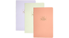WorkStyle Take Chances Perfect Bound Notebook, 3 Pack (WS203-406) (Item # WS203-406)