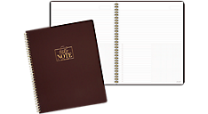 WorkStyle Take Charge Notebook (WS501-405) (Item # WS501-405)