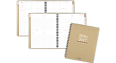 Collection 2016 - 2017 Academic Weekly/Monthly Planner - Large (YP104A_17) (Item # YP104A_17)
