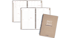 Collection Academic Weekly/Monthly Planner - Medium (YP105A) (Item # YP105A)
