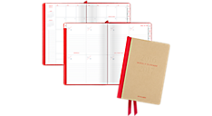 Collection 2016 - 2017 Casebound Academic Weekly/Monthly Planner - Medium (YP106A_17) (Item # YP106A_17)