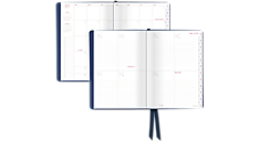 Collection Casebound Academic Weekly/Monthly Planner - Medium (YP106A) (Item # YP106A)
