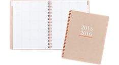 2015 - 2016 Collection Academic Monthly Planner - Large (YP107A_16) (Item # YP107A_16)