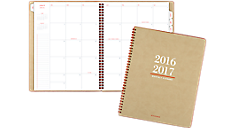 Collection 2016 - 2017 Academic Monthly Planner - Large (YP107A_17) (Item # YP107A_17)