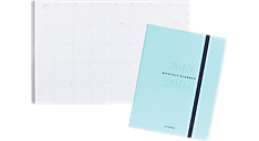 2015 - 2016 Collection Academic Stitched Monthly Planner - Large (YP109A_16) (Item # YP109A_16)