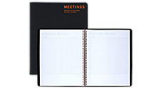 Collection Meeting Notebook Twin Wire - Large (YP214) (Item # YP214)